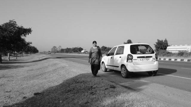 A beautiful morning on Jaipur-Ajmer Expressway