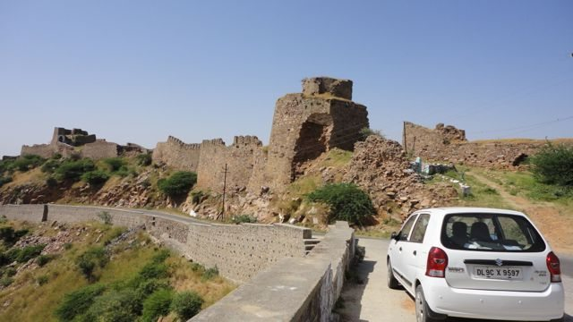 Rampart of the Fort of Prithvi Raj Chauhan