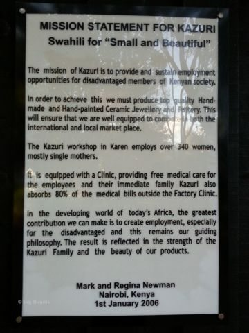 About Kazuri