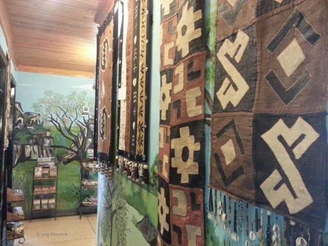 Paintings and Carpets at Utamaduni Craft Centre