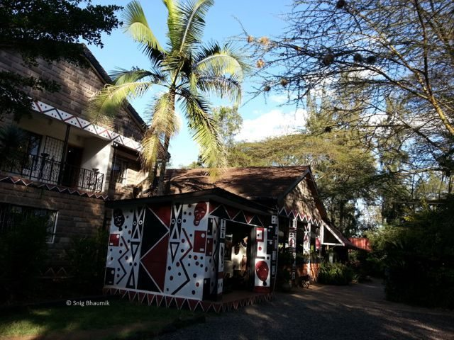 Outside view of Utamaduni Craft Centre