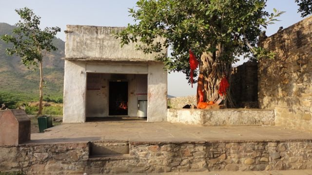 Hanuman Temple at the gate
