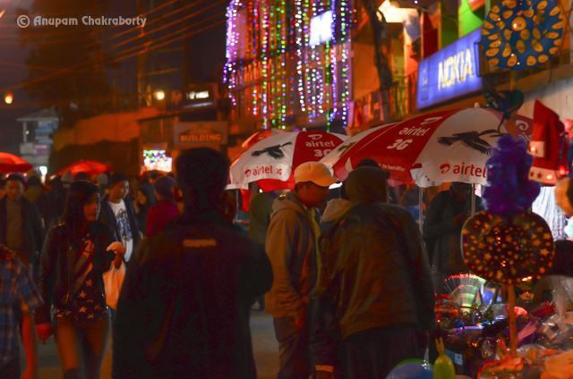 A Glimpse of Night Bazaar