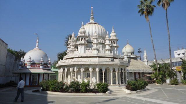 Three tombs at the Dargah