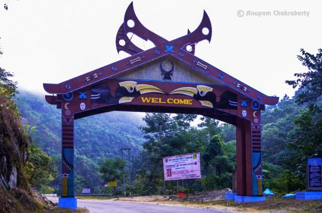 Welcome Gate to Nagaland