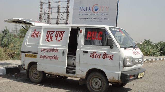 Mobile Pollution Control Unit