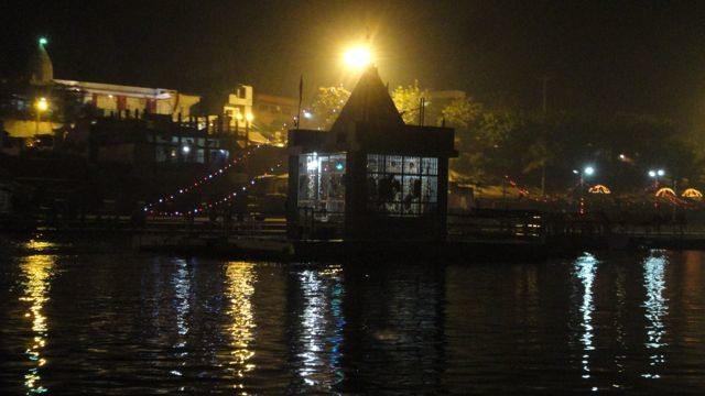 The river temple of Narmada