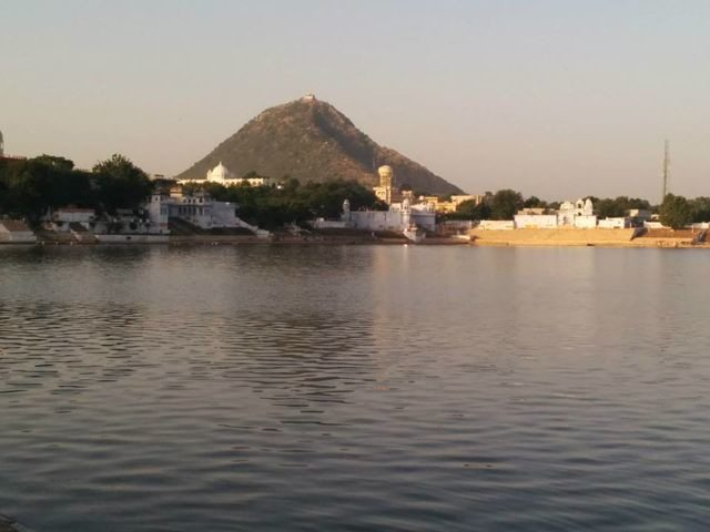 Temple of Goddess Savitri over the hill top