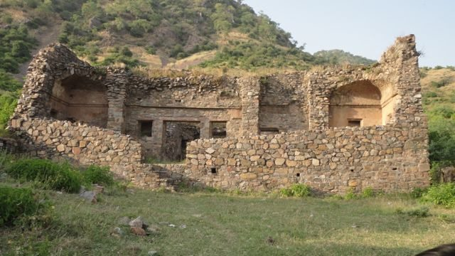 Ruins of the priest's residence