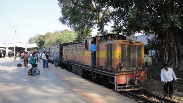 The narrow gauge train at Jabalpur