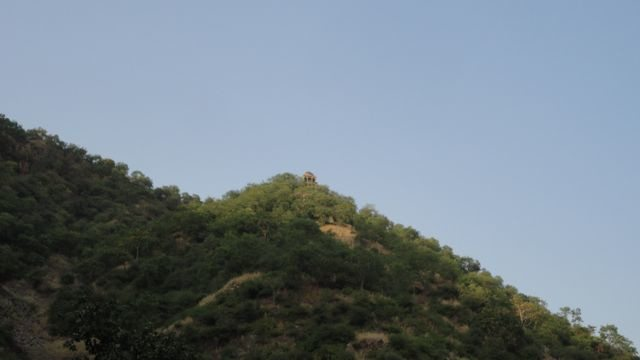 Tantrik's haveli on the top of the hill