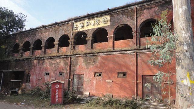 Ruins of Empire Cinema in Sanskardhani