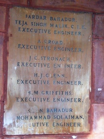 The Architect and Engineer associated with the project
