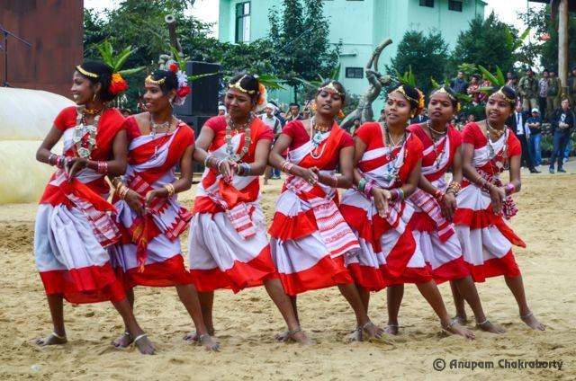 Dance of Assam Tea Tribes