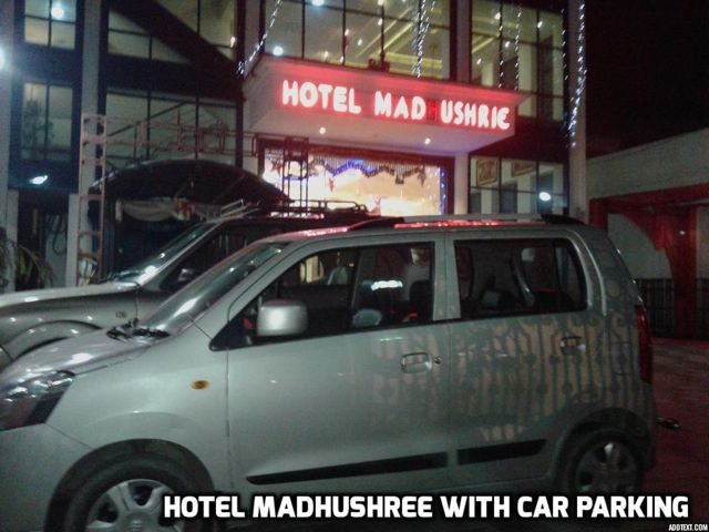 Hotel Madhushree with Car parking