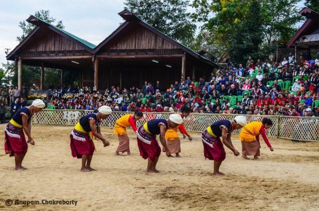 Harvesting Folk dance of Meghalaya Tribes