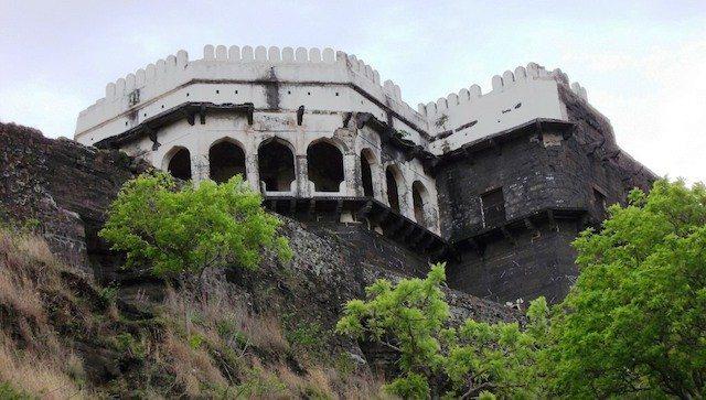 A view of the baradari