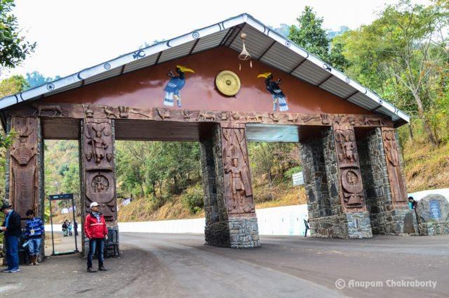 Hornbill Festival Venue Gate