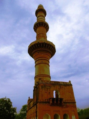 A small museum near Chand Minar