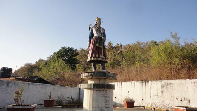 Statue of Rani Durgawati