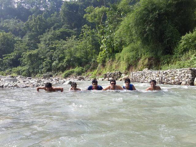 River @ Bidholi