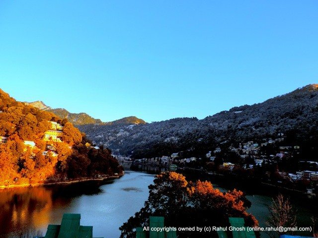 Nainital lake at early morning