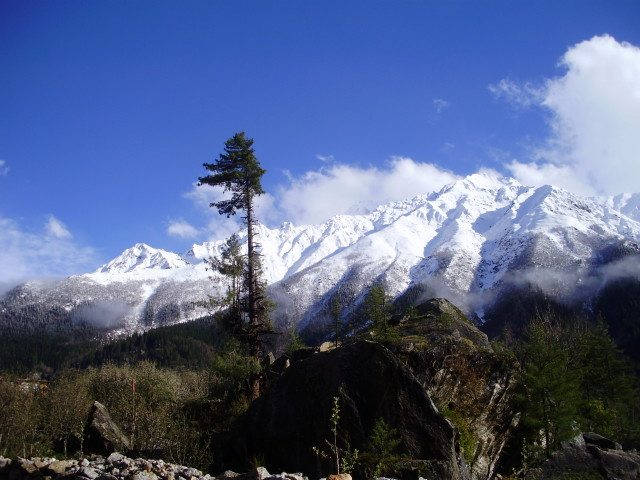 Mountains from Sangla