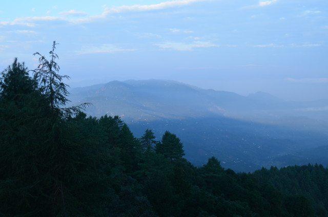 Panoramic View of the Kumaon Hills