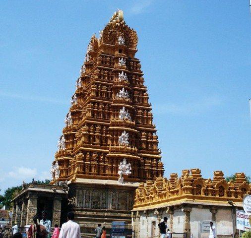 Temple at Dakshin Kashi
