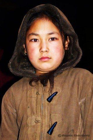 A cute Nepali kid