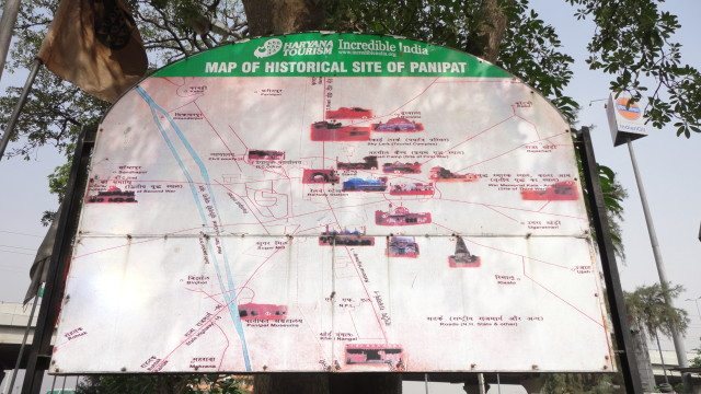 Tourist Map of Panipat