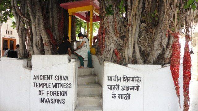 The ancient Shiva Temple at Jyotisar