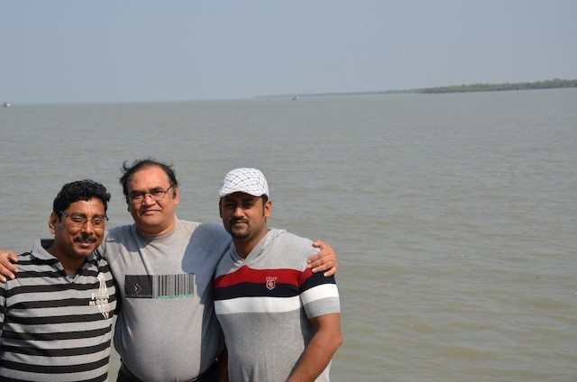 Myself in the Centre With Friends