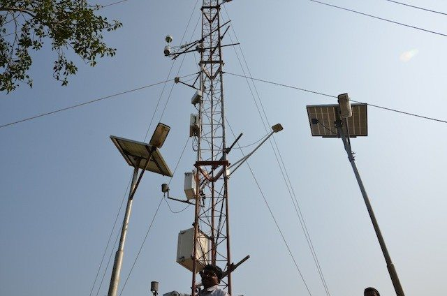 Pollution Monitoring Tower