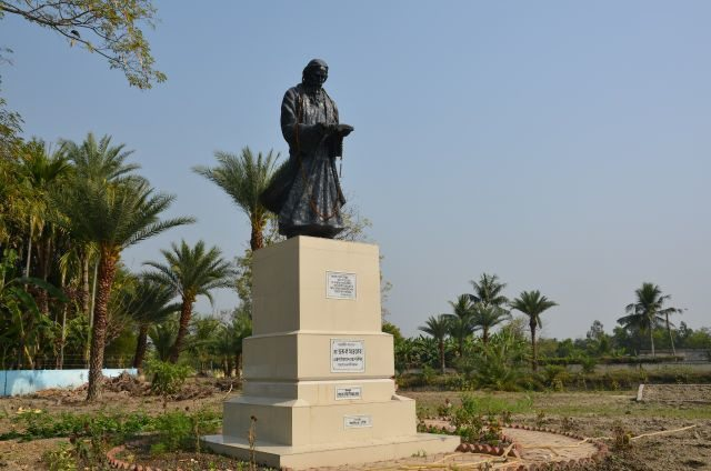 Tagore Statue at Gosaba