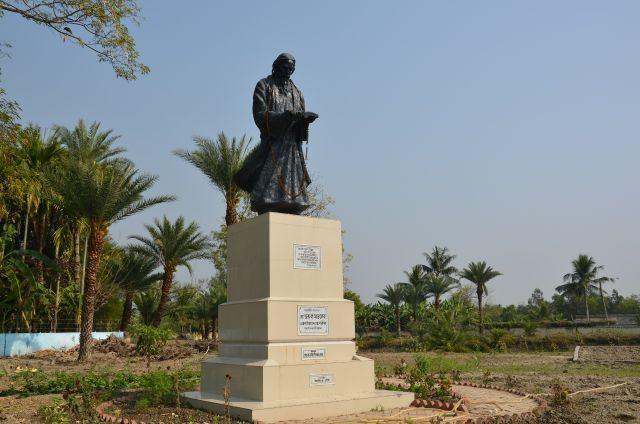 Tagore Statue at Gosaba