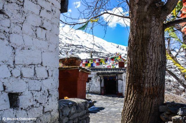 Dhola Mebar Gompa or Jwala Mai Temple