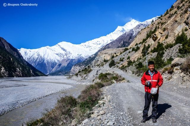 Himalayan off-road from Jomsom to Ghasa