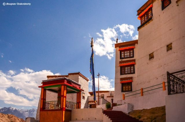 Entry to Likir Gompa