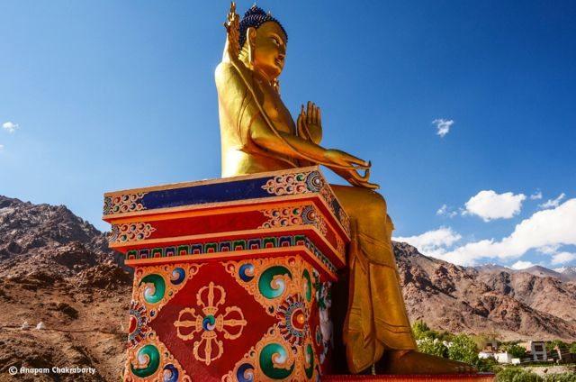 75 feet tall Maitreya (Future) Buddha