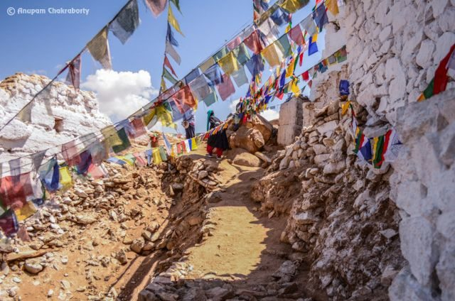 Rocky Path to Old Gompa