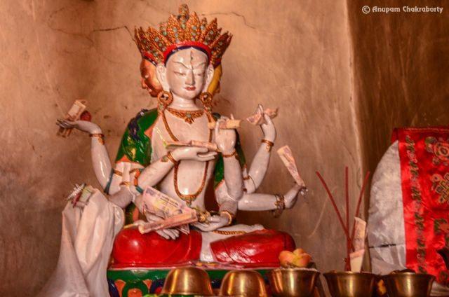 Idol of Manjushri