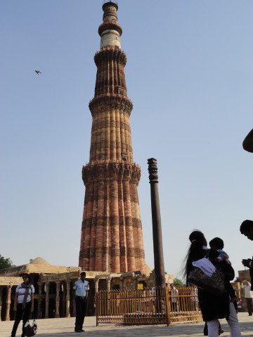 The iron-pillar of Delhi