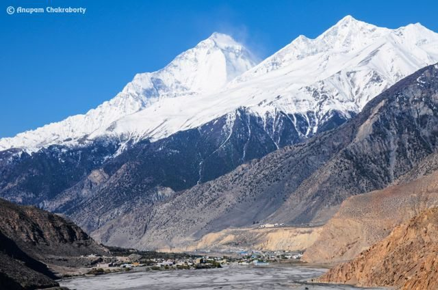 Jomsom on the Foothill of Mt. Dhaulagiri