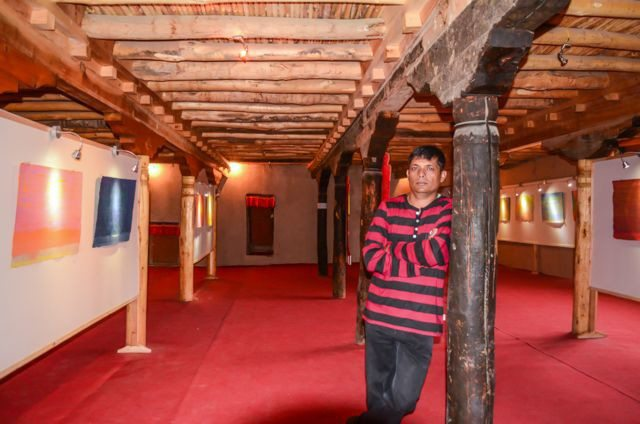 Exhibition Hall in Leh Palace