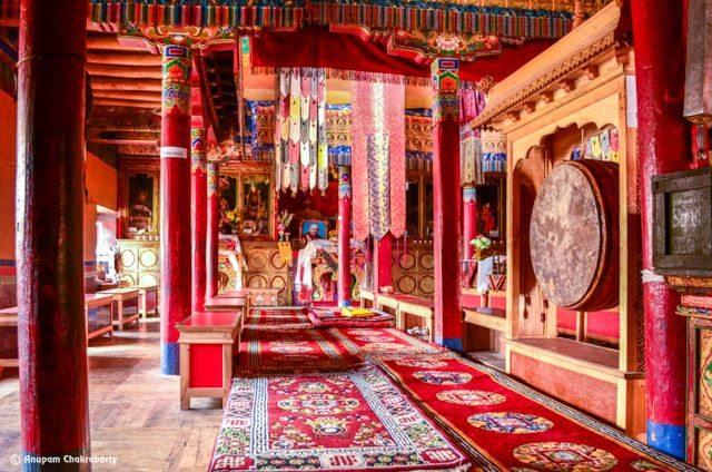 Inner Sanctum of Lamayuru Monastery