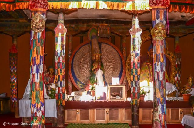 Chapel inside the Leh Palace
