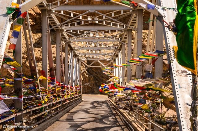 Road to Alchi Monastery