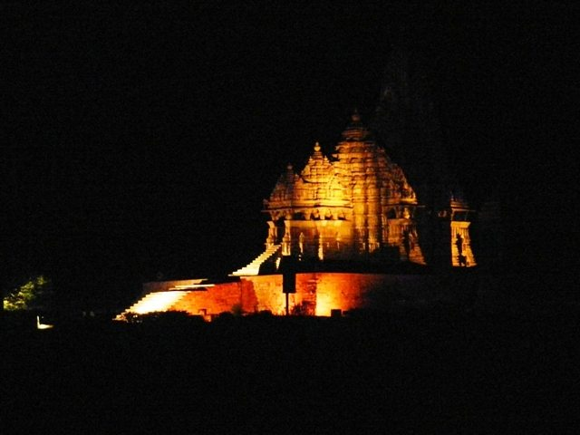 Khajuraho Temples at Night (1)