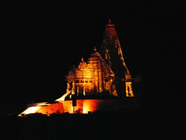 Khajuraho Temples at Night (2)